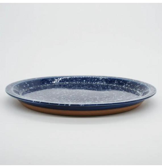 Plate, style: modern unit ceramic