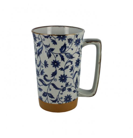 Large single mug flowers