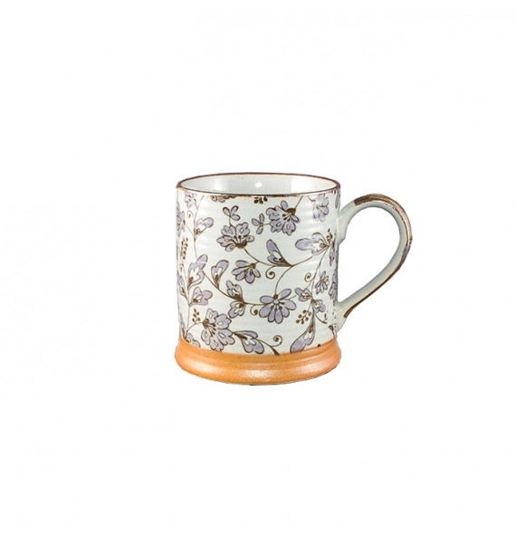Mug japanese flowers purple