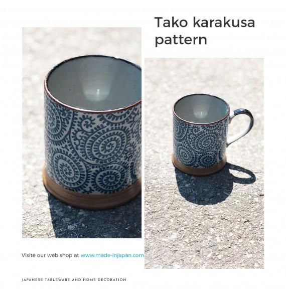 Tasse avec anse takokarakusa