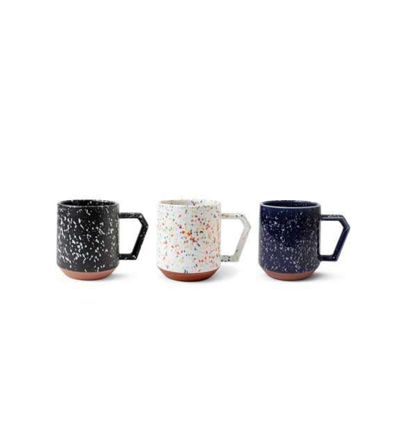 Mug, modern porcelain with the unit