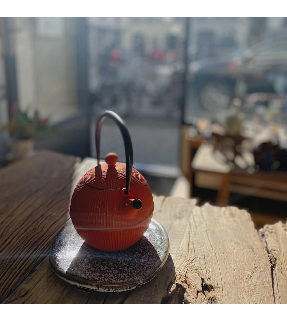 Teapot cast iron Japanese modern