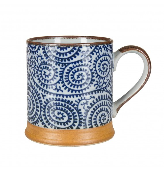 Cup with handle takokarakusa